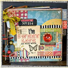 This is one fantastic journal-scrapbook!  Very inspiring and offers a goal for me to strive for!
