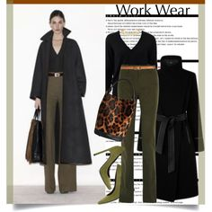 How To Wear Work Wear Look... Outfit Idea 2017 - Fashion Trends Ready To Wear For Plus Size, Curvy Women Over 20, 30, 40, 50