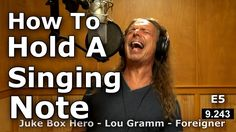 How To Belt And Hold A Note - Sustaining High Notes - Vocal Tutorial - Ken Tamplin Vocal Academy Vocal Lessons, Singing Lessons, Singing Tips, Music Lessons, Guitar Lessons, Music Sing, Songs To Sing, Sing Sing, Singing Techniques