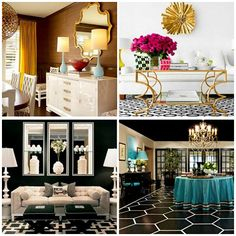 hollywood chic decor | The current resurgence of Hollywood Regency (this is its third ...