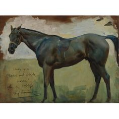 Sir Alfred J. Munnings, P.R.A. | lot | Sotheby's