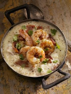 Shrimp and Grits and 16 other southern dishes you will want to eat over and over.