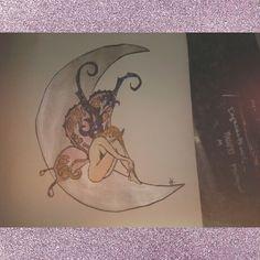 #christmas#present#my#creation#moon#fairy#christmas ❄