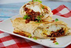 Breakfast Phyllo Wrap Recipe – 3 Points Breakfast Wraps, Bacon Breakfast, Breakfast Recipes, Breakfast Smoothies, Brunch Recipes, Breakfast Ideas, Wrap Recipes, Egg Recipes, Cooking Recipes