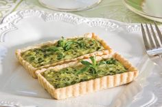 Our Sweet Pea and Leek Tartlets are delicious alone or as an accompaniment to a savory sampling.