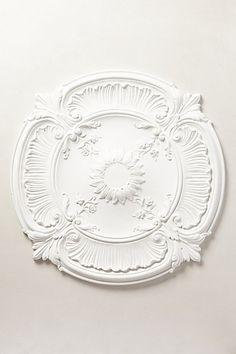 Acanthus Ceiling Medallion #anthropologie