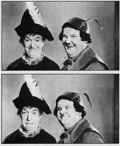 Laurel and Hardy - March of the wooden soldiers (babes in toyland) 1934