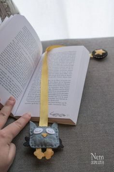 DIY marque-page hibou / DIY owl bookmark - Nemgraphisme.com: