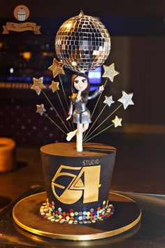 Studio 54 - Cake by The Sweetery - by Diana
