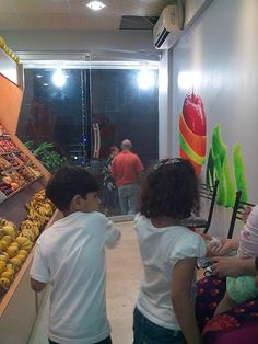 At the opening night KIN Fruits flooded with customers living in DHA neighborhood.