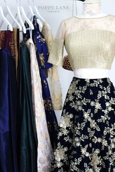 Unique Blouses, Sarees and Lenghas that embody the vibrancy of South Asian fashion with a modest up to date western flair. Brocade Lehenga, Banarasi Lehenga, Saree, Indian Dresses, Indian Outfits, Long Skirts, Indian Designer Wear, Ss16, Asian Fashion