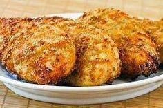MELT IN YOUR MOUTH CHICKEN And it's Healthy…So much better than fried!!! Ingredients and Directions: 1/2 cup parmesan cheese 1 cup Greek yogurt -plain 1 tsp garlic powder 1 1/2 tsp seasoning salt 1/2 tsp pepper Spread mixture over chicken breasts, bake at 375 degrees for 45 mins–Absolutely Delish!