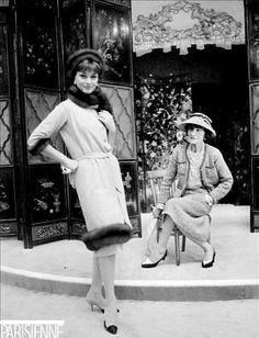 Paris 1958- Arnaud with Chanel