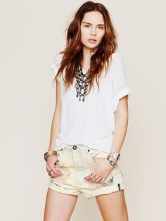 Free People Outlaw Boyfriend Short, $108.00