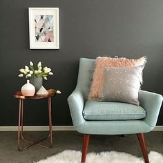 From Featuring The Kmart Side Table And Fluffy Cushion!