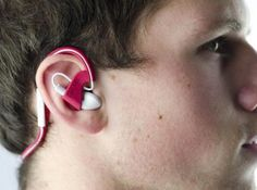 Convert those earbuds to behind the head headphones with this simple product!