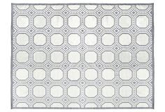 One Kings Lane - Style Icon - Andover Flat-Weave Rug, Gray