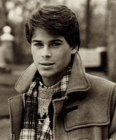 "Rob Lowe in before he wrote his tell-all Hollywood book. ""Class"" was a movie about a guy who is sleeping with his friend's mom while in prep school. It looks very high contrast here. Pretty People, Beautiful People, Perfect People, Actrices Hollywood, Raining Men, Celebs, Celebrities, My Guy, Gentleman"