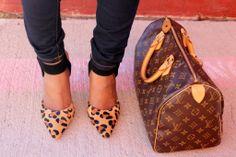 Louis Vuitton Speedy 30 - so I can wear my leopard flats ! Yay !