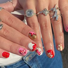 Nail Inspo, Rodeo, Claws, Bring It On, Nail Art, Candy, Nails, Creative, Instagram