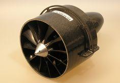 EDF DS 94 HST 128 mm electrec ducted fan unit