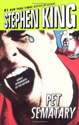"""Pet Sematary by Stephen King - Now a major motion picture! Stephen King's New York Times bestseller is a """"wild, powerful, disturbing"""" (The Washington Post. Stephen King Novels, Pet Sematary, Creepy Stories, Bestselling Author, Audio Books, The Book, My Books, Literature, Play"""
