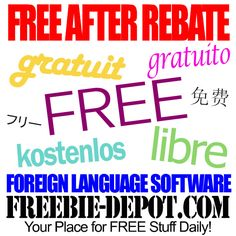 FREE AFTER REBATE – Berlitz Language Software - Exp 3/27/14