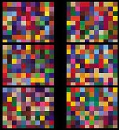 Detail from Gerhard Richter's stained glass cathedral window.