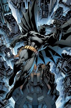 Batman by Jim Lee and Scott Williams *