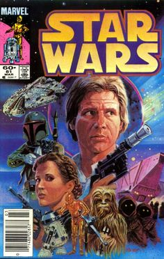 Marvel Comics of the 1980s: 1984 - Anatomy of a Cover - Star Wars #81 by Tom Palmer