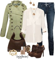 """""""spring green"""" by enjoytheview on Polyvore"""
