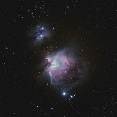 """""""Orion DT"""" --  the Orion Nebula is found in Orion's Sword in the famous constellation named after the blade's owner"""