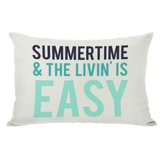 Summertime Pillow - YES!!!!