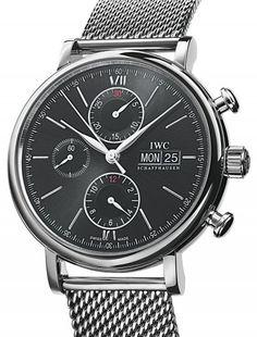 IWC | Portofino Chronograph | Steel | Watch database watchtime.com  $7,361