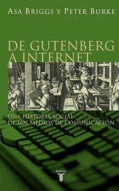 Portada de De Gutenberg a Internet