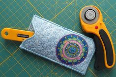 machine embroidery,machine applique,in the hoop,project,rotary blade keeper,