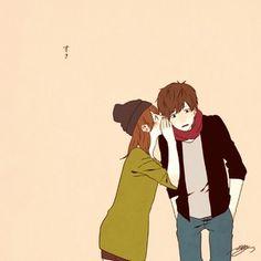 それはまさに理想のカップル♡深町なかさんのイラストにきゅんきゅんしよっ*|MERY [メリー]