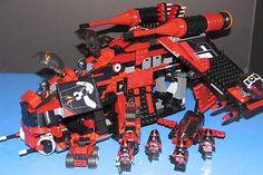 Lego® Star Wars™ Custom Phase II Dark Red Shadow Republic Gunship Knight Stalker | eBay