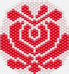 KIKI GYÖNGYEI: Egyszerű matyó tulipános minta