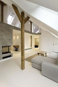 Amazing loft design, modern and simple, this interior was designed by A1 Architects. located in Prague, Czech Republic