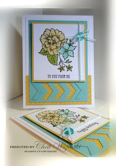 I Like You, Me, My Stamps and I, Stampin' Up Cards