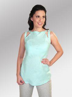 Blusa Osoro #moda #lino #SS2014 www.abito.com.mx