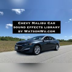 The following is a 2021 Chevrolet Malibu LT single license sound effects library (with Metadata). Specification: 2021, 4 Cylinder, 1.5 Liter, 160 HP, Front Wheel Drive, Automatic Car The Onboard recordings are in 2 channels (Engine and Exhaust). Drag & drop or import each of the files into your audio editing software, then align them for creative mixing. There are also stereo mix versions of the OnBoard recordings. The External recording is in stereo from a fixed position. Definitions & FAQs:…