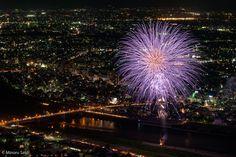 Fireworks Festival 2015 - Nagaragawa River Gifu, Japan by Minoru Sato