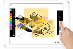 Trace Pro by Morpholio Apps allows users to overlay sketches and mark-ups on drawings.