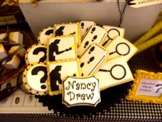 Vintage Nancy Drew Party