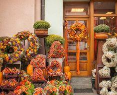 Wreaths, Fall, Plants, Gardening, Home Decor, Fall Season, Autumn, Decoration Home, Door Wreaths