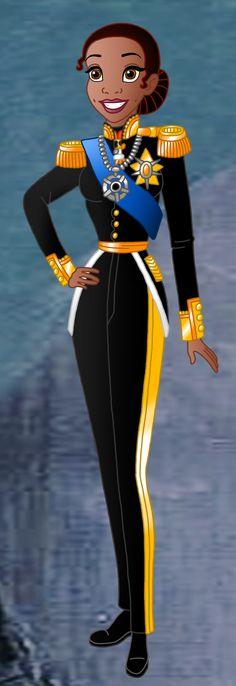 Disney Monarchs: Queen Tiana by Willemijn1991.deviantart.com on @deviantART