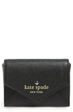 kate+spade+new+york+'cedar+street+-+marietta'+card+case+available+at+#Nordstrom