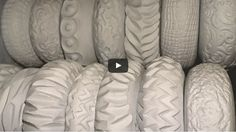Creating Texture Rollers When it comes to texturing clay there are so many dif Art Clay Pottery Teapots, Raku Pottery, Pottery Wheel, Pottery Art, Ceramic Texture, Clay Texture, Make Your Own Pottery, Pottery Making, Pottery Videos